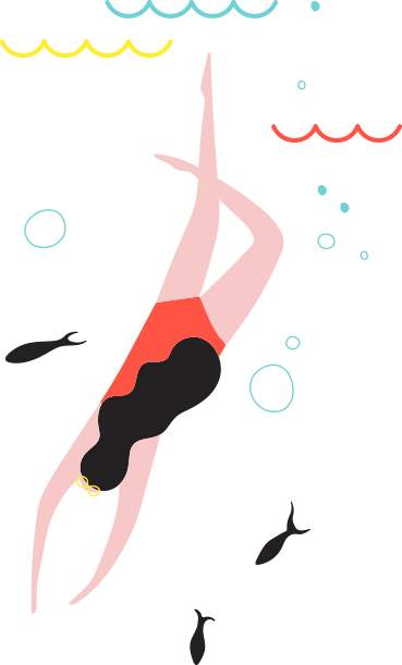 Swimmer Diving Into Forthright