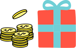 Coins & Gift Reward